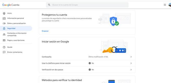 Mejorar la seguridad de Gmail