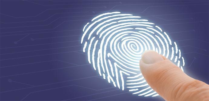 Huella dactilar vs contraseña