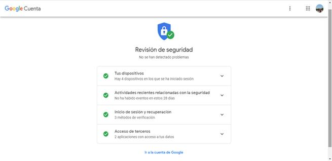 Revisar la seguridad de Gmail