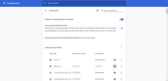 Riesgos de utilizar un gestor de contraseñas en el navegador
