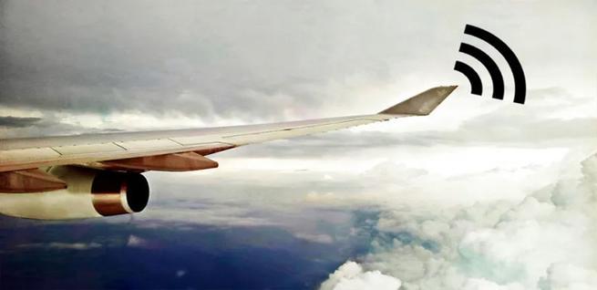 La dificultad de tener Internet en un avión