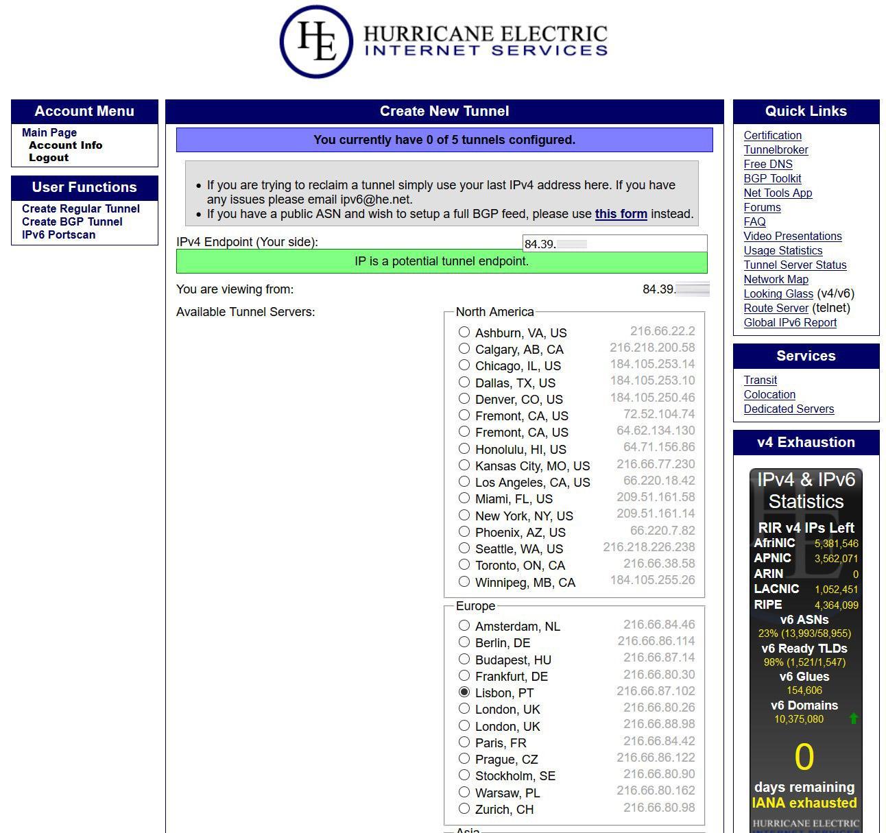 Cómo configurar Tunnelbroker en ASUS para tener IPv6 en Internet