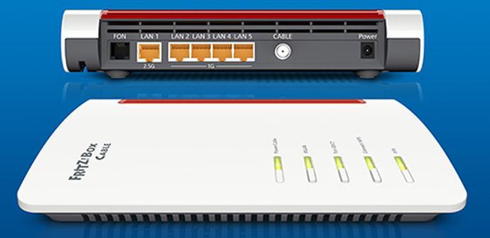 Ver noticia 'FRITZ!Box 6660 Cable: Nuevo router con DOCSIS 3.1, Wi-Fi 6 (Wi-Fi AX) y puerto 2.5G'