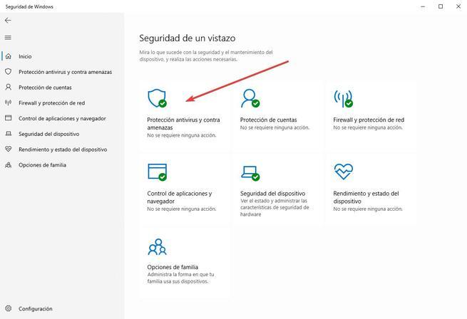 Protección contra alteraciones - Windows Defender - 1