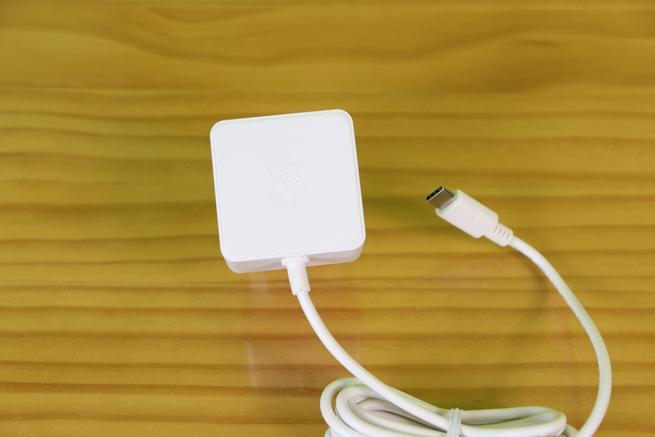 Fuente de alimentación para la Raspberry Pi 4 con USB tipo C