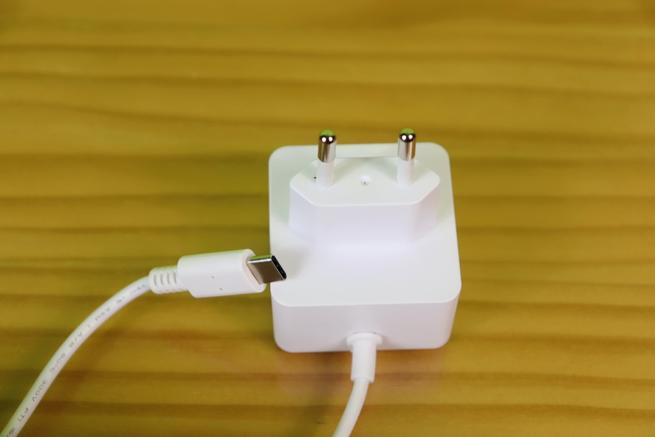 Conector EU de la fuente de alimentación para la Raspberry Pi 4