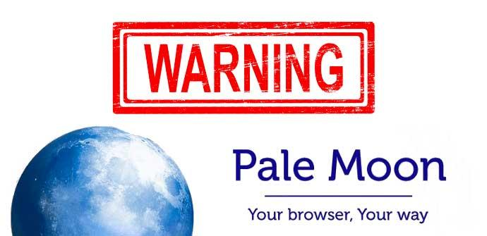 Warning Pale Moon