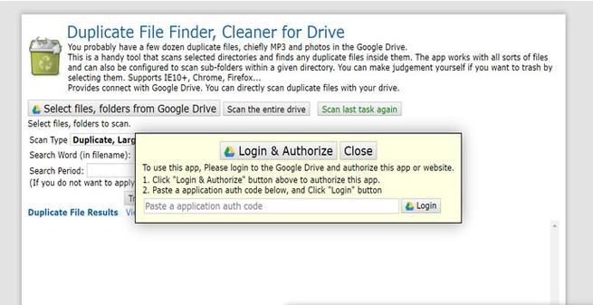Encontrar archivos duplicados en Google Drive