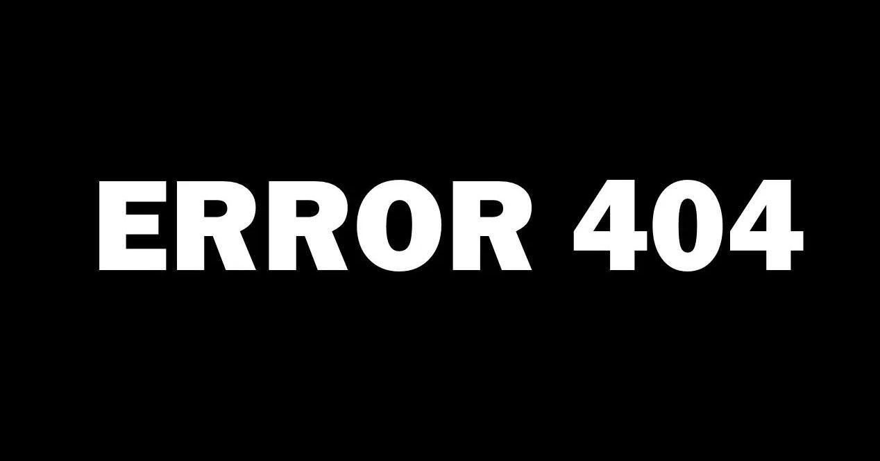 Error 404 en ataques Phishing