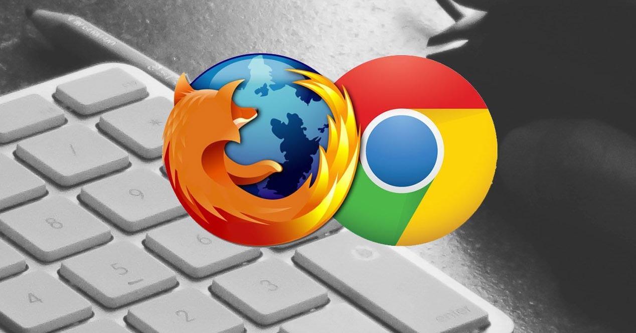 Problemas al iniciar Chrome o Firefox