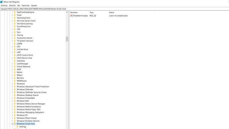 Bloquear los scripts en Windows