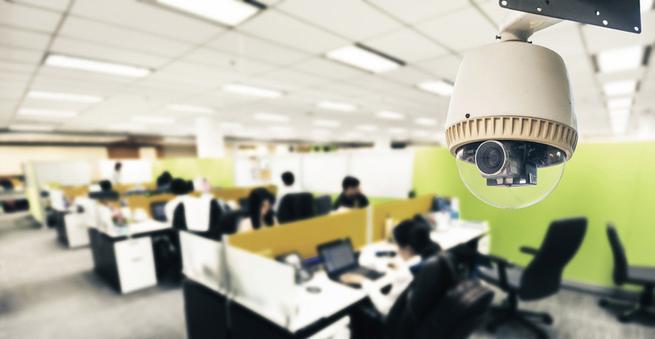 Trabajadores en empresa