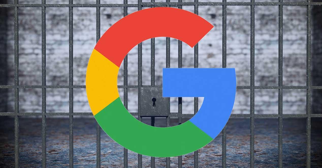 Google bloquea navegadores