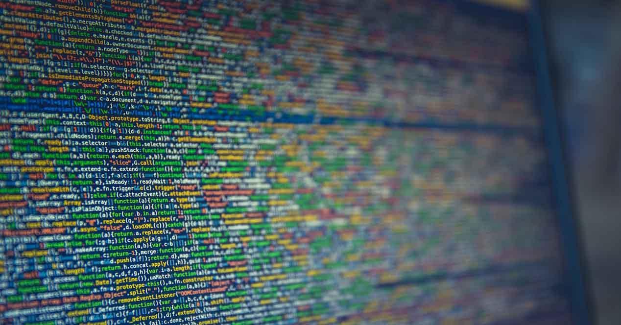 Tipos de archivos con malware
