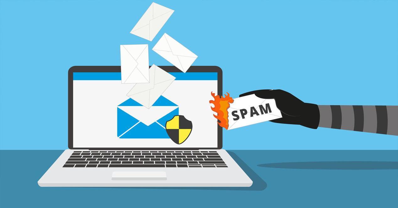 Una nueva campaña alerta de que nuestro e-mail está en una lista de Spam