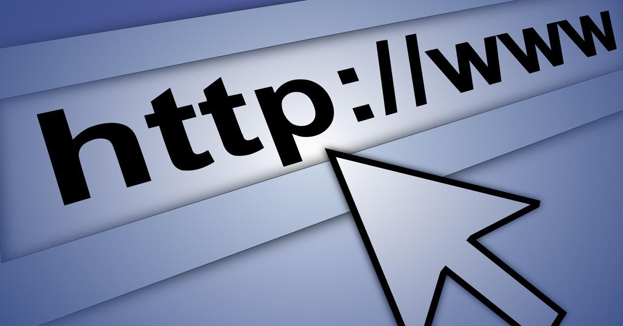 Navegar por página HTTP
