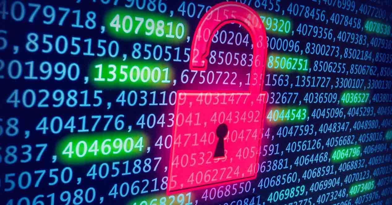 Usos datos robados Internet