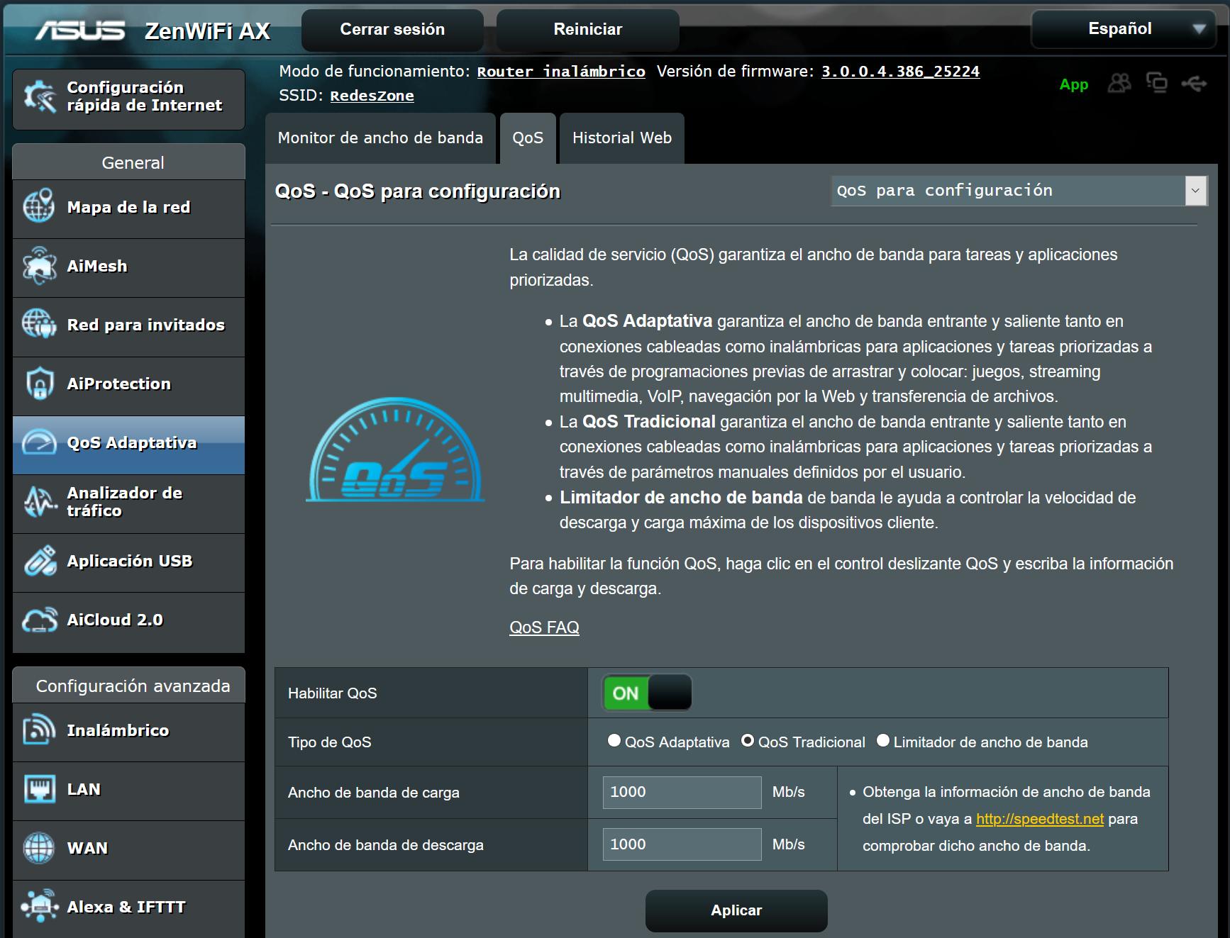 Configurar el QoS para juegos online en router ASUS ...