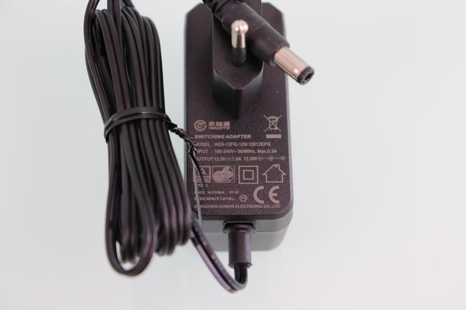 Especificaciones técnicas del transformador de corriente de la EZVIZ C3X