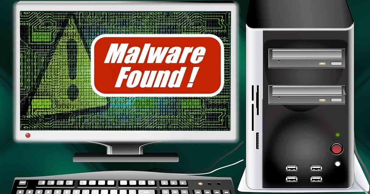 Alertas falsas de malware