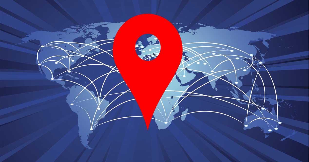 Bloquear ubicación en el navegador