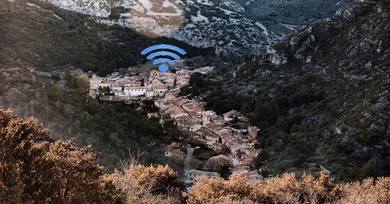 compartir internet por satélite entre varias casas