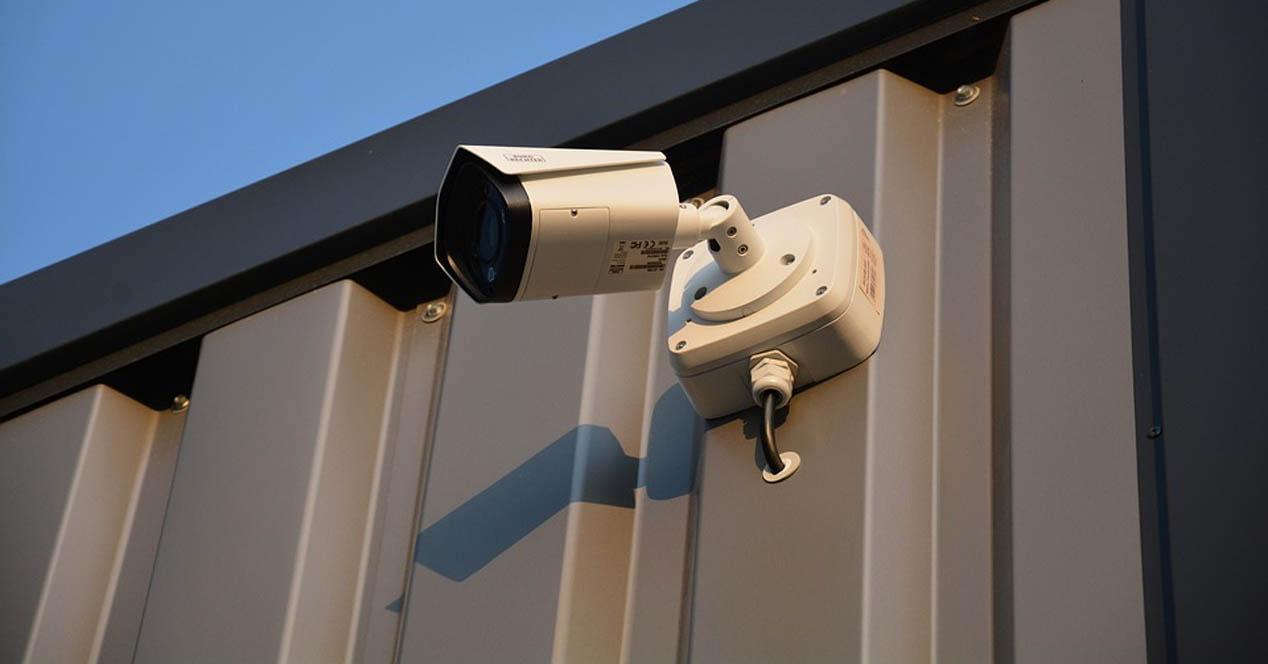 Problemas de privacidad por usar cámara de seguridad