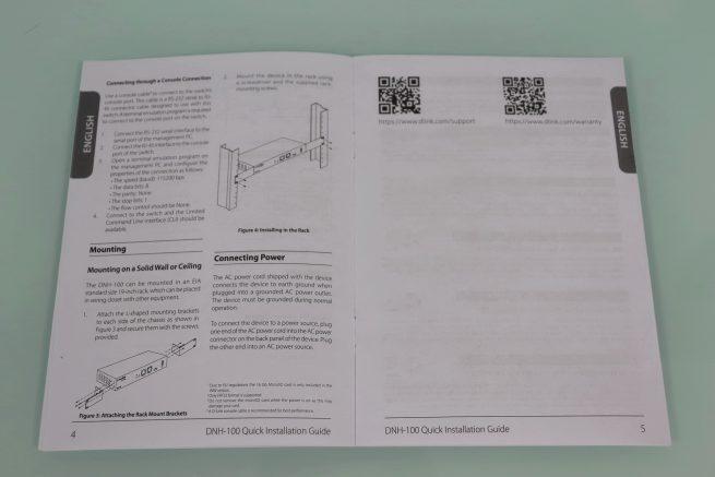 Guía de instalación rápida del controlador WiFi D-Link DNH-100