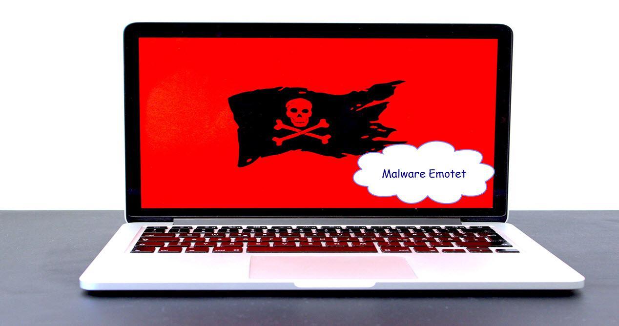 PC está infectado con el malware Emotet