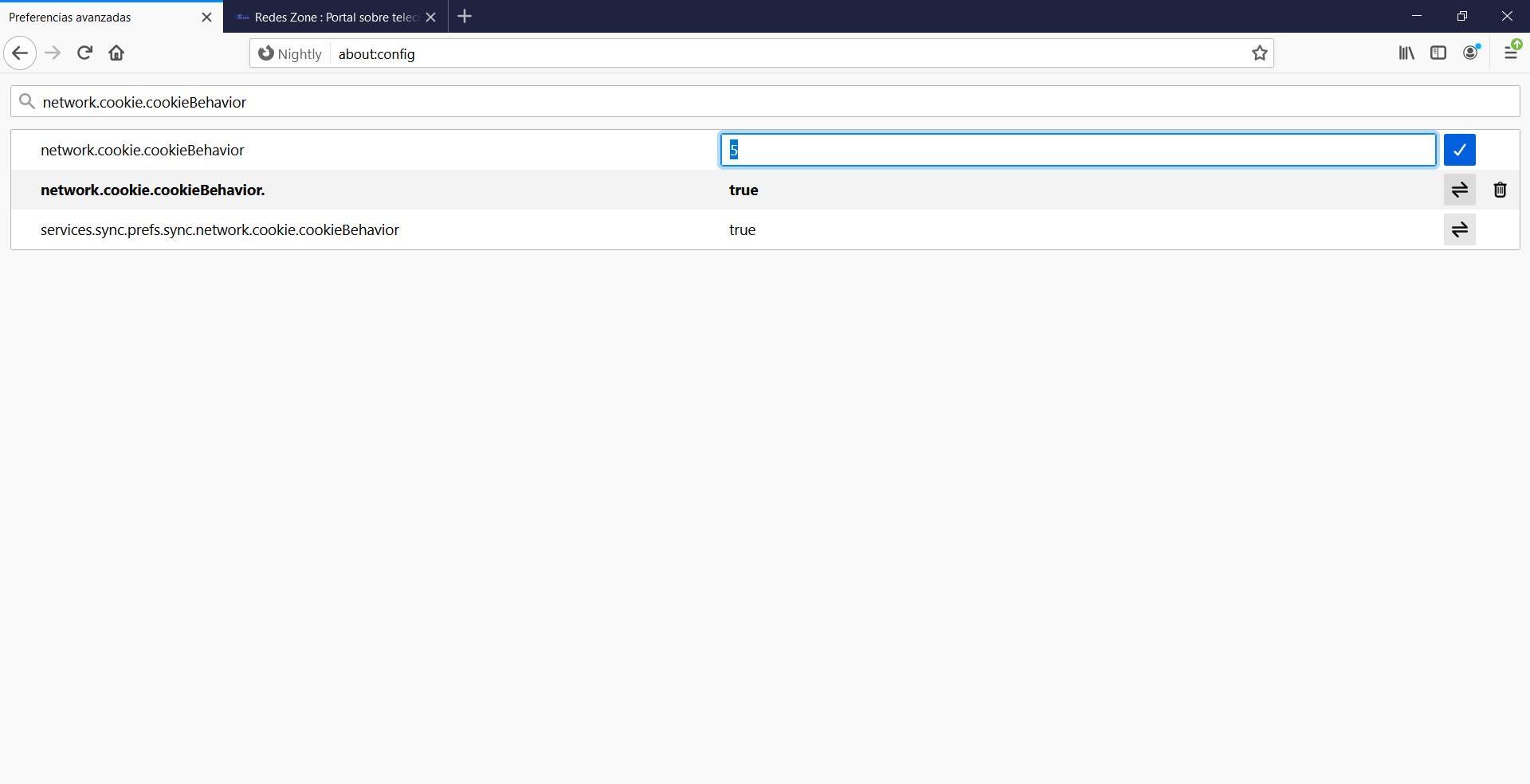 Configurar el rastreo de seguimiento en Firefox