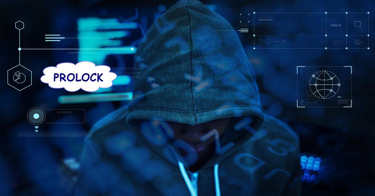 robo de datos por el ransomware ProLock