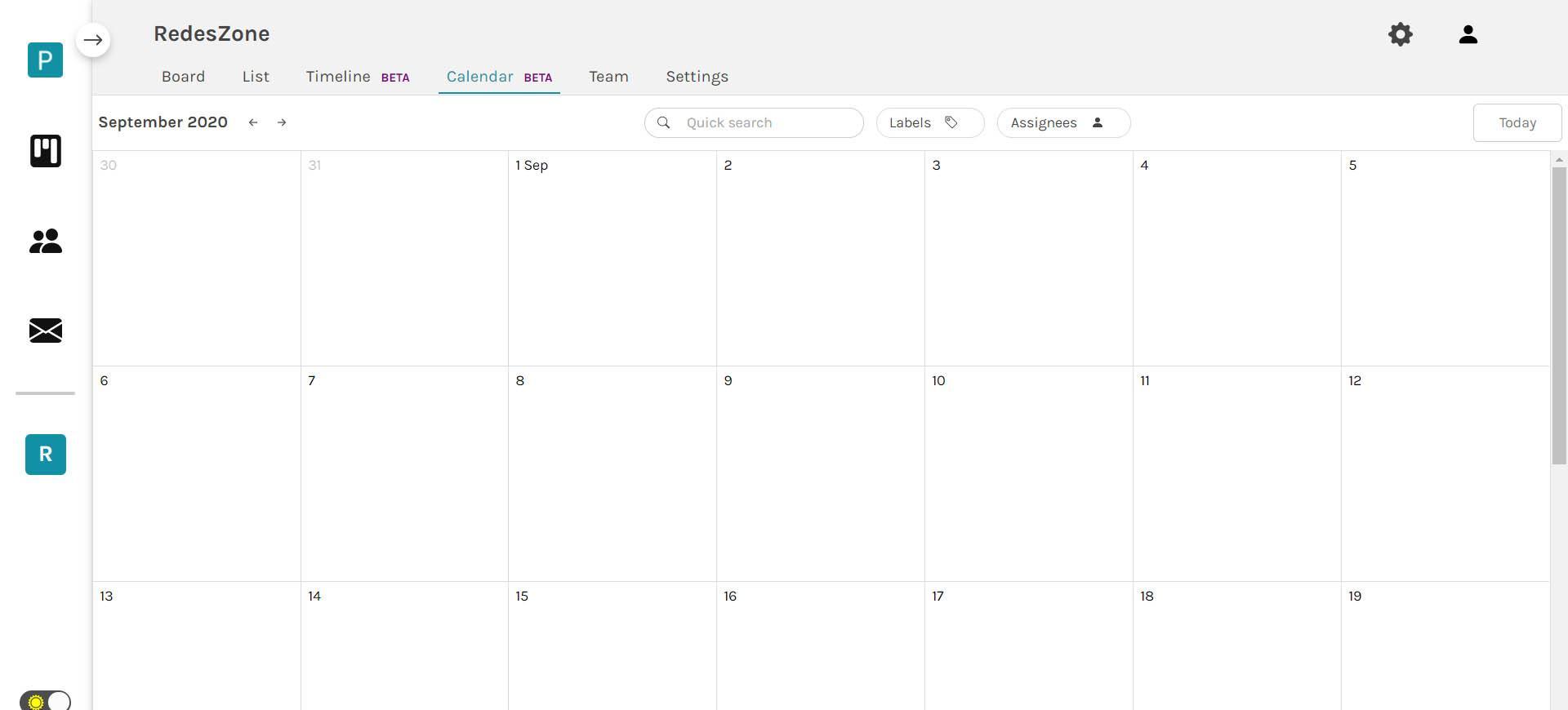 Calendario Portabella