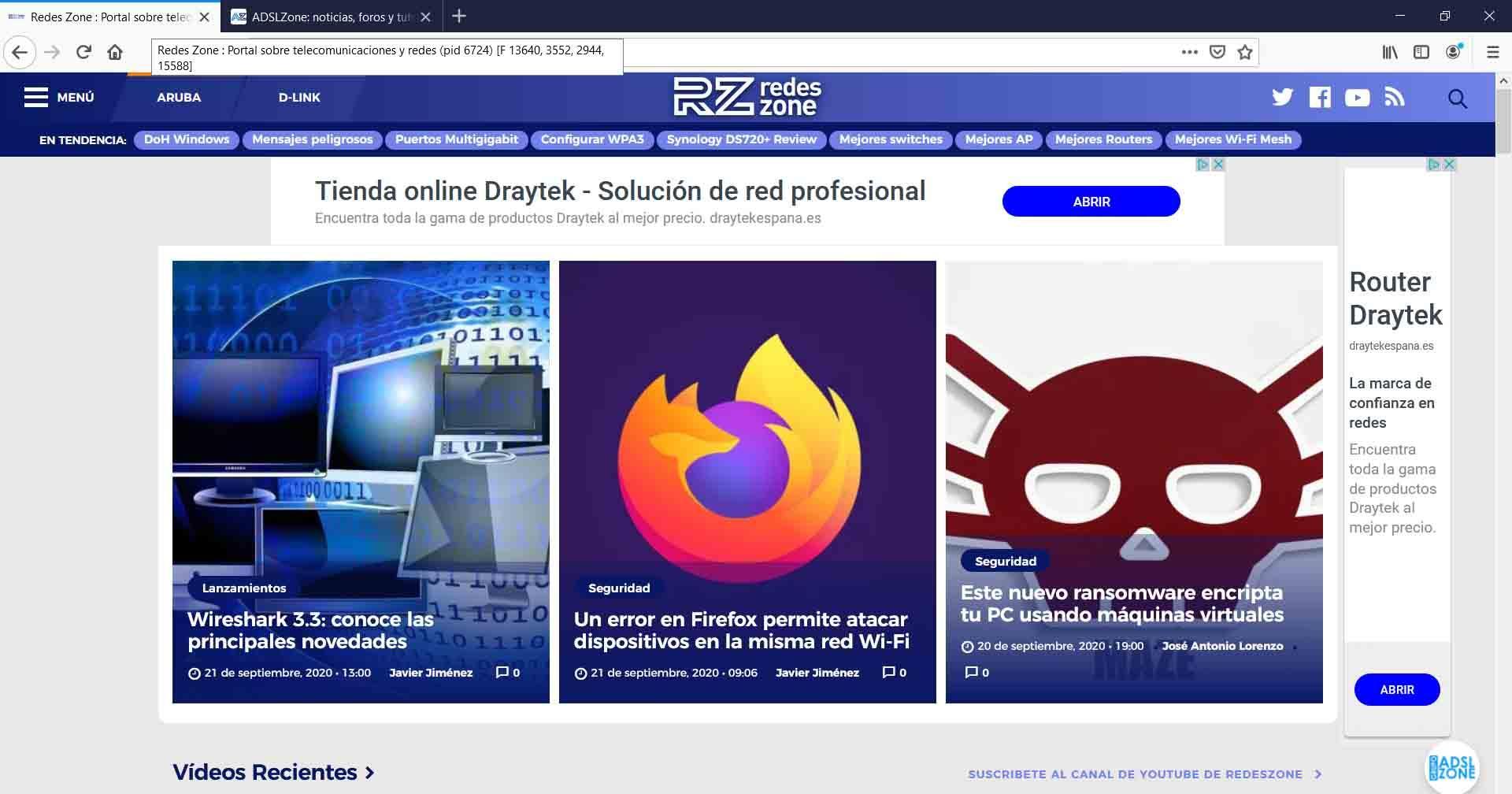 Característica Fission en Mozilla Firefox