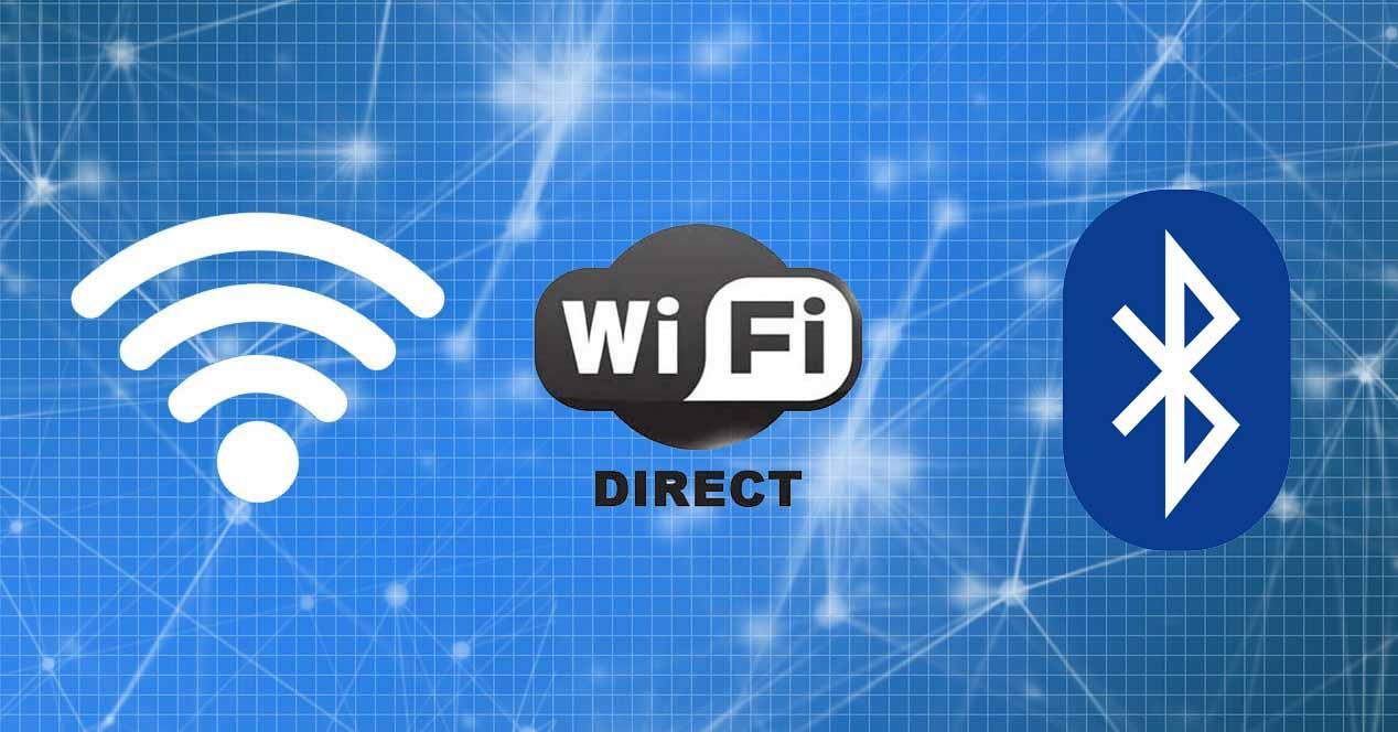 Diferencias entre Wi-Fi, Bluetooth y Wi-Fi Direct