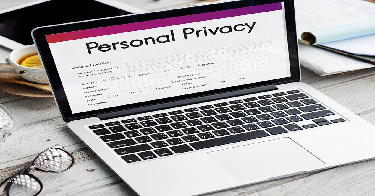 protección de privacidad de un dominio
