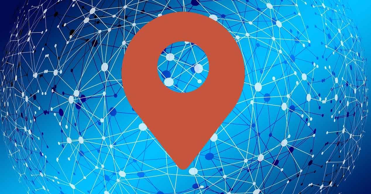 Saber ubicación al entrar en una web