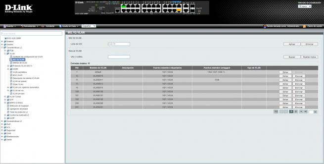 D Link DGS 1520 28MP private vlan 3