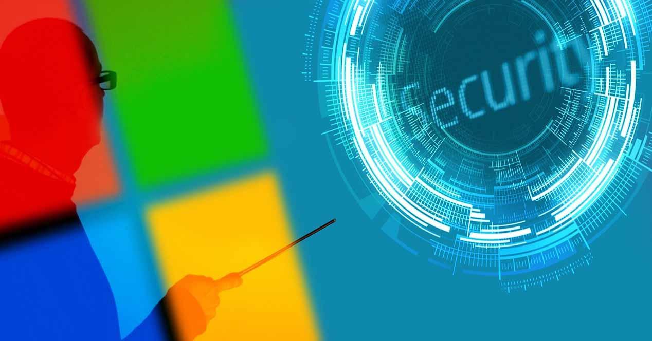 Función de seguridad de Windows