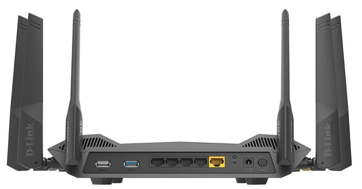 ampliar los puertos LAN
