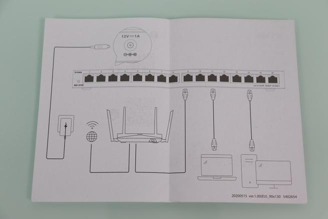 Guía para conectar los dispositivos al switch D-Link DGS-1016S
