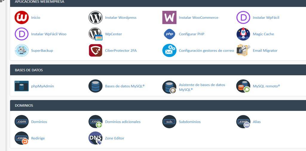Migrar una página web a otro hosting