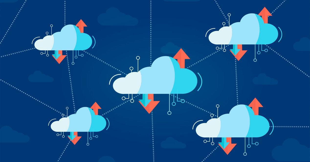 Compartir archivos en la nube y por Internet