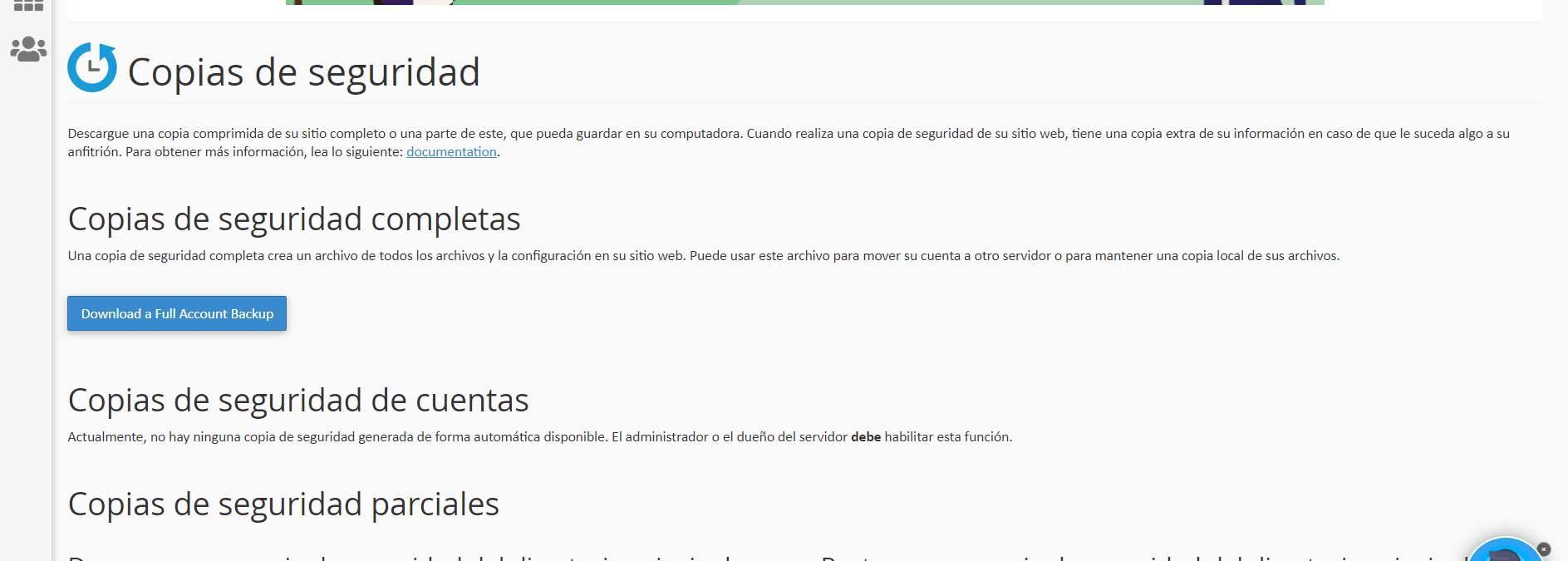 Opciones para crear copias de seguridad de WordPress