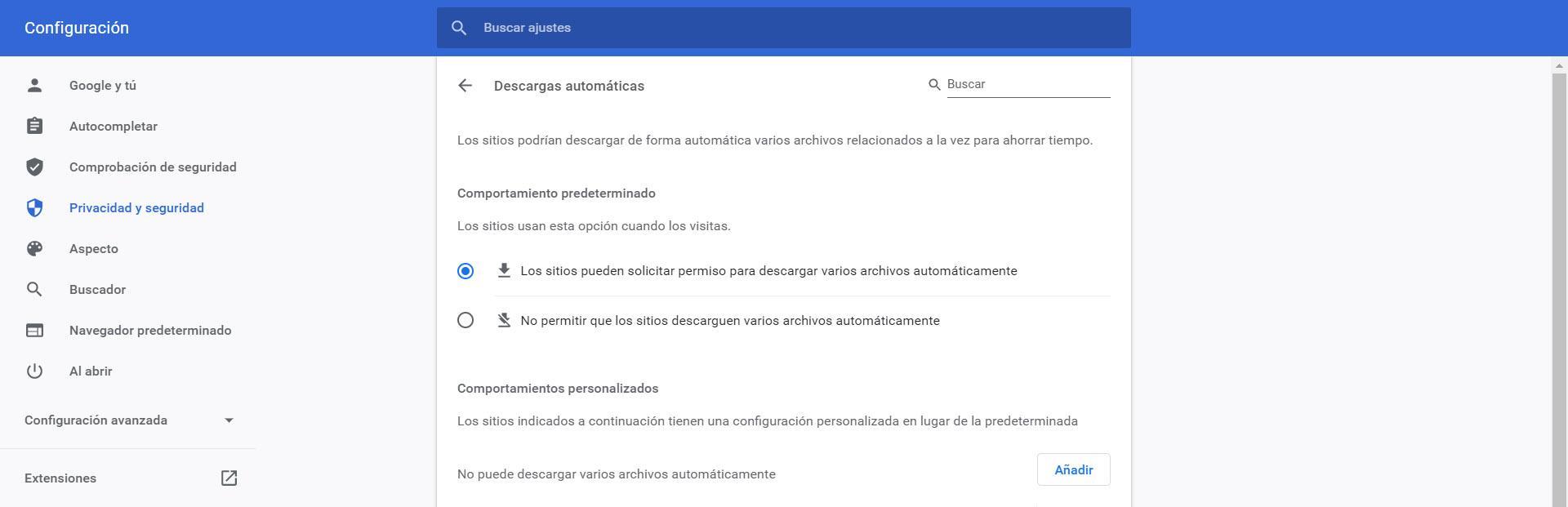 Evitar problemas con Google Docs