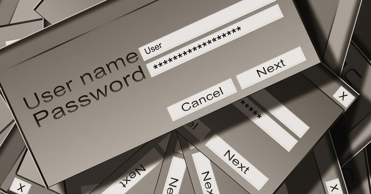 Métodos de las páginas web para guardar contraseñas