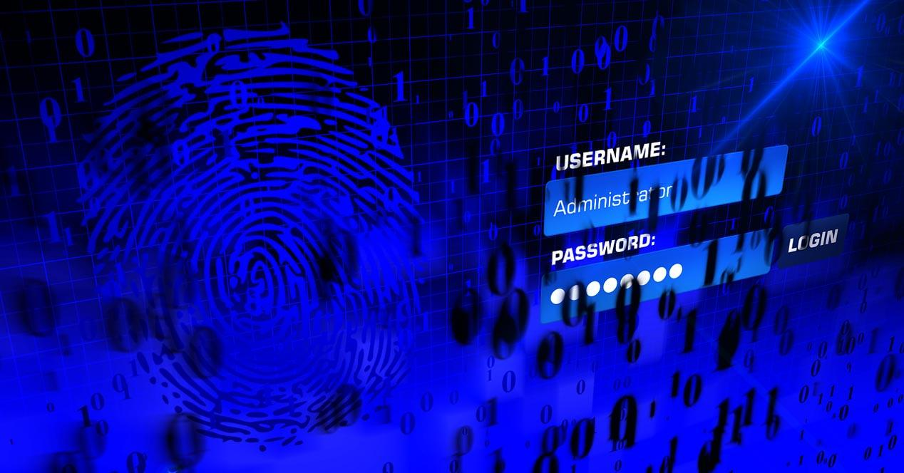 Intento de acceso a contraseñas online
