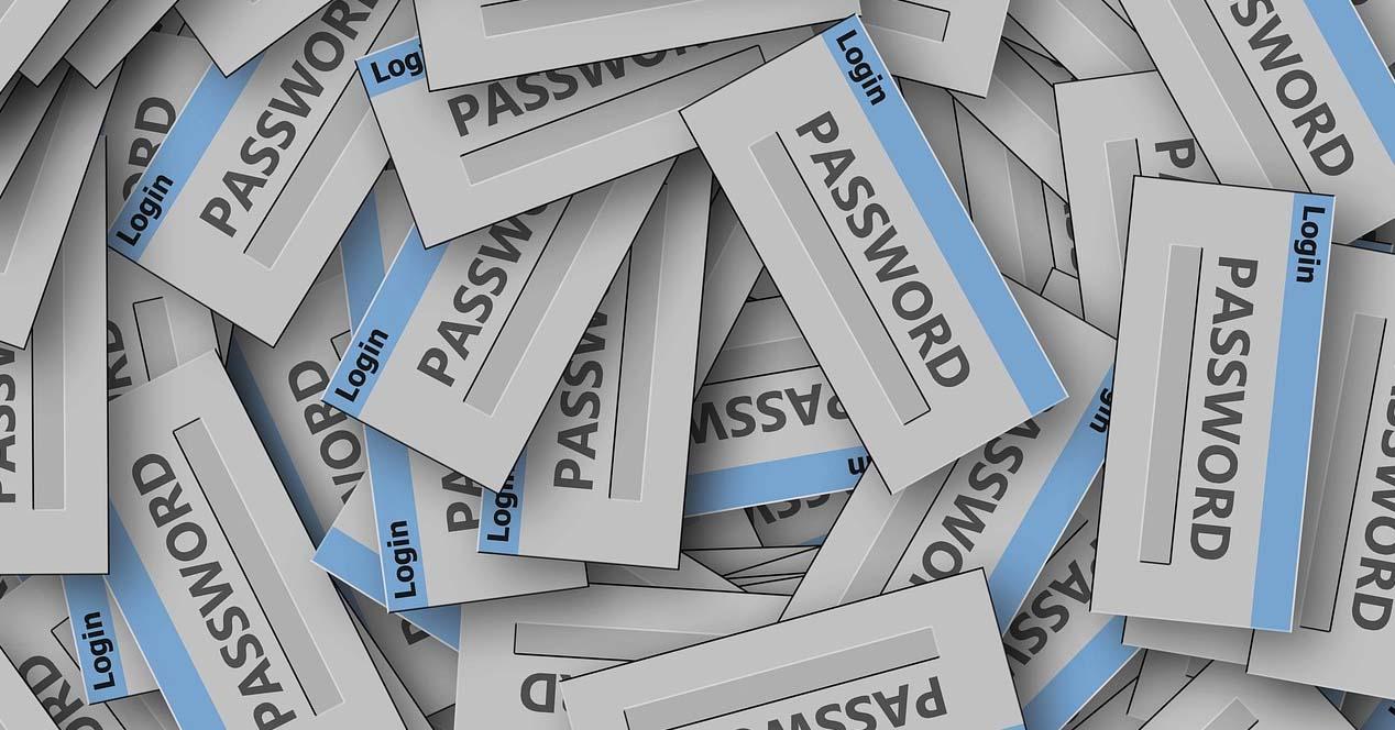 Evitar errores en las contraseñas