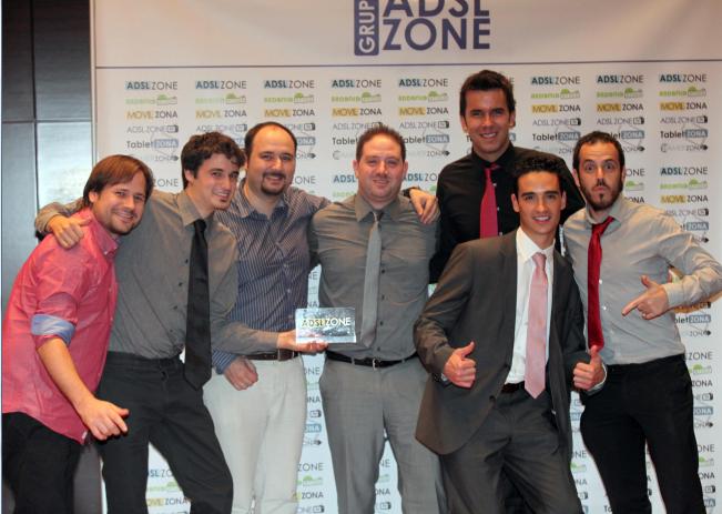 Javier Sanz ADSLzone premios