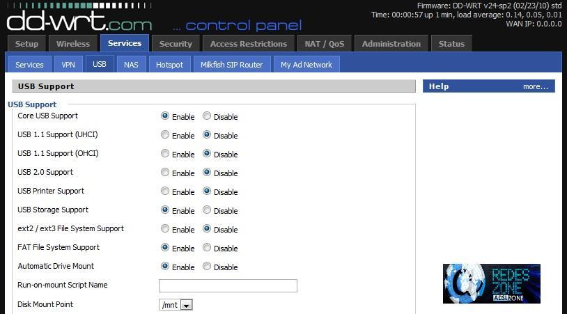 DD-WRT : Instalación en un router y volver al firmware original