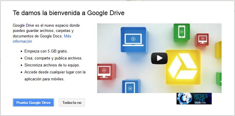 google drive instalación puesta a punto y primeras impresiones
